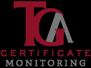 TGA Certificate Monitoring